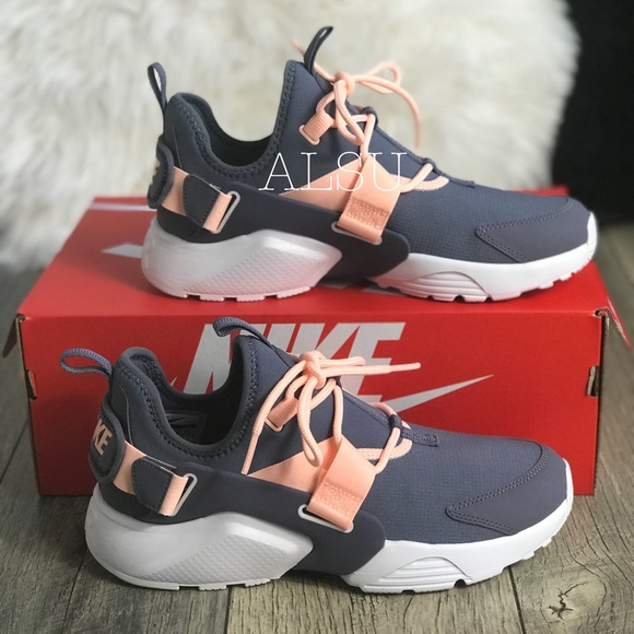 reputable site 73df5 c32ad Nike Air Huarache City Low Light Carbon W AUTHENT